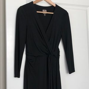 Jersey wrap over dress
